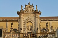 Italy, Puglia, Lecce, Santa Croce basilica