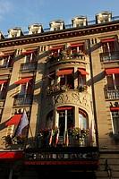 France, Haut Rhin, Mulhouse, Hotel du Parc