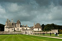 France, Finistere, Saint Vougay, Kerjean Castle