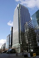 Citigroup building Canary Wharf Docklands London