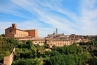 Siena city picture