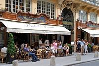 France, Paris, Galerie Vivienne, the Bistrot Vivienne