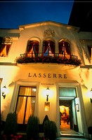 France, Paris, Restaurant Lasserre, Classique, Facade, 17, Ave  Franklin Roosevelt, 75008
