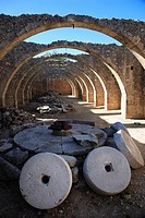 Ruins of The Venetian Olive Press, Karidhi Monastery, Crete, Greece