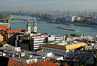 The Danube is the longest river in the European Union and Europe´s second longest river after the Volga. The far, east bank is the old city of Pest, i...