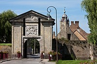 France, Nord, Bergues, Cassel Gate