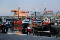 United Kingdom, Scotland, Orkney Islands, Mainland Island, port of Stromness