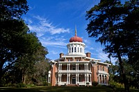 Longwood historic antebellum octagonal mansion located in Natchez, Mississippi.