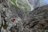 Italy, Trentino_Alto Adige, Dolomites, group Pale di San Martino