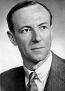 Sir James Chadwick 1891_1974, English physicist. Educated in Manchester, Chadwick worked under Rutherford on research mainly with alpha particles heli...