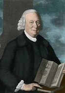 The Reverend Nevil Maskelyne, Astronomer Royal, in an oil portrait by J. Downman.