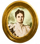 Emily Warren Roebling 1843_1903, the wife of Col. Washington Roebling. She took over from her husband, who was Chief Engineer of the Brooklyn Bridge, ...