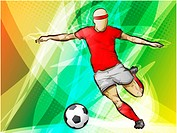 Sports Abstract Lights Backgrounds_futbol, soccer, action