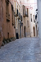 Major Street, Dalt Vila, Ibiza, Ibiza, Balearic Islands, Spain