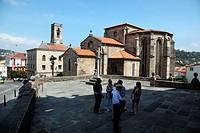 Iglesia Parroquial de San Francisco, Betanzos, La Coruña, Galicia, Spain, Europe.