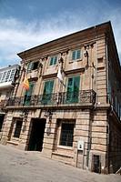 Plaza de la Constitucion, Betanzos, La Coruña, Galicia, Spain, Europe.