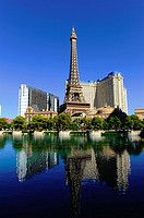 Eiffel Tower Paris Casino Las Vegas Nevada