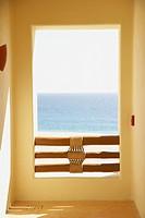 Balcony at resort hotel