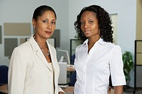 Portrait of African businesswomen in office