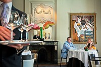 De Karmeliet Restaurant, it is rated 3 stars michelin, Brugge, Bruges, Flanders, Belgium.