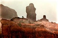 Boynton Red Rock Canyon Snowstorm, Falling Snow, Clouds Sedona Arizona