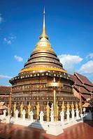 Phathat Lampang Lhuang Temple at Lampang Thailand