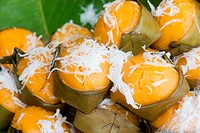 Thai dessert .,it made by toddy palm