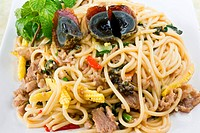 Image of Thai spicy food noodle