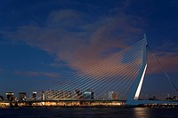 Erasmus bridge, Rotterdam, Holland
