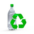 Plastic bottle water recycle