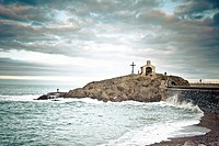 Collioure Beach, French coast