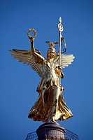 The Victory Column, Siegessaeule, Berlin, Germany