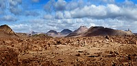 Fire mountains in Lanzarote