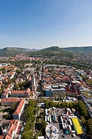 Germany, Thuringia, Jena, View of city