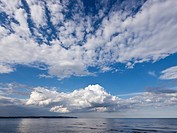 Northern Germany, View of Ruegen Island with Baltic Sea