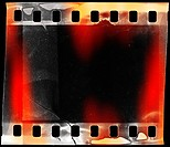 designed grunge filmstrip, may use as a background