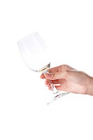 Hand Wine Glass