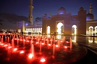 Sheikh Zayed Grand Mosque, Abu Dhabi, Uniter Arab Emirates