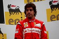 Podium: 3rd Fernando Alonso ESP, Scuderia Ferrari, F_150 Italia