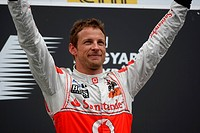 podium: 1st Jenson Button GBR, McLaren Mercedes, MP4_26