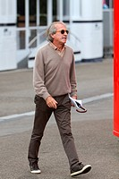 Friday Practice 1, Jacques Laffite FRA, Ex F1 Driver, Belgian Grand Prix, Francorchamps