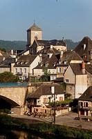 Village of Argentat, Dordogne valley, Correze, Limousin, France, Europe