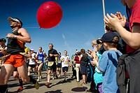 Freiburg Marathon, 03.04.2011, Freiburg im Breisgau, Baden-Wuerttemberg, Germany, Europe