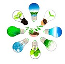Green energy concept _ save green planet