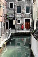 Canal Fondamenta Soranza delle Fornaci, Venice, Veneto, Italy, Europe, Europe