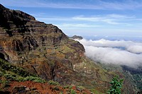 Mountains near Monte Espadana, Santo Antao, Cape Verde, Africa