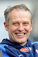 Christian String, coach of SC Freiburg, portrait, Mercedes_Benz Arena, Stuttgart, Baden_Wuerttemberg, Germany, Europe