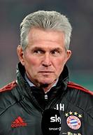 Jupp Heynckes, coach of FC Bayern Muenchen, Mercedes-Benz Arena, Stuttgart, Baden-Wuerttemberg, Germany, Europe
