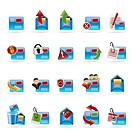 Mail Vector and Letter _Vector Icon Set 2