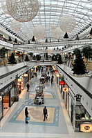 Interior view, Centro Comercial Vasco da Gama shopping mall on the grounds of the Parque das Nacoes, Lisbon, Portugal, Europe